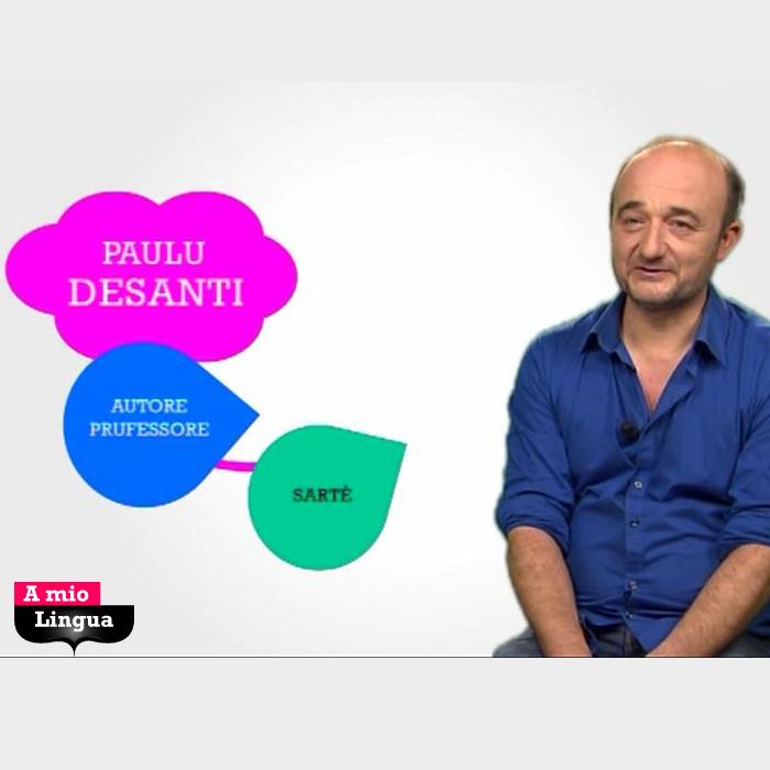 A mio Lingua cù Paulu Desanti