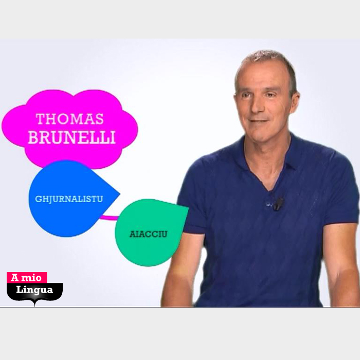 A mio Lingua cù Thomas Brunelli