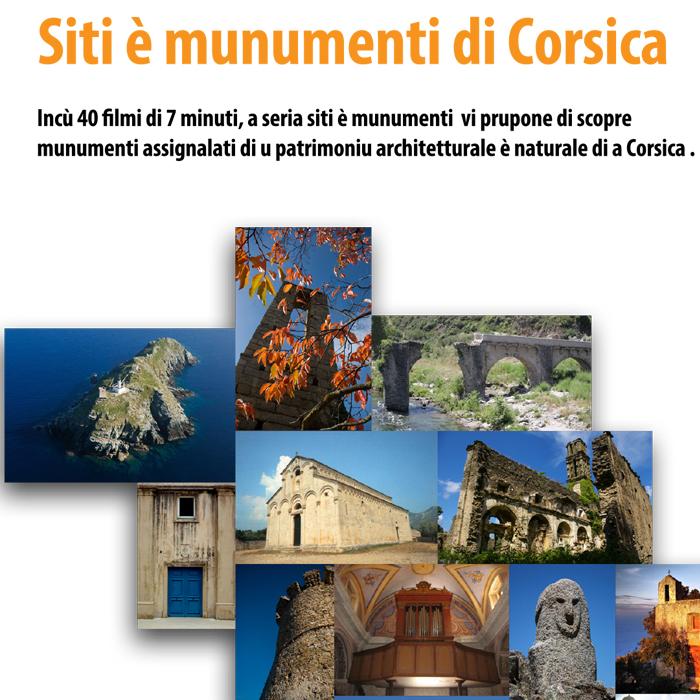 CRDP de Corse - Siti è munumenti di Corsica